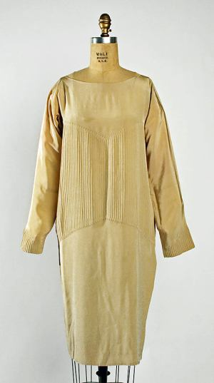 Afternoon Dress. Madeleine Vionnet ca. 1927. Retrieved from: metmuseum.org
