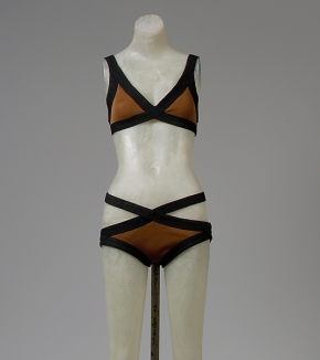 Rudi Gernreich Bikini. 1970-71. American. Retrieved from: metmuseum.org