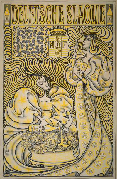 Delft Salad Oil, Jan Toorop, 1894. Retrieved from: rijksmuseum.nl
